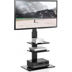 TV Fernseher Ständer Standfuss Fernseherstand - Höhenverstellbar