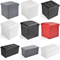 Seat Cube Bench Storage Box...